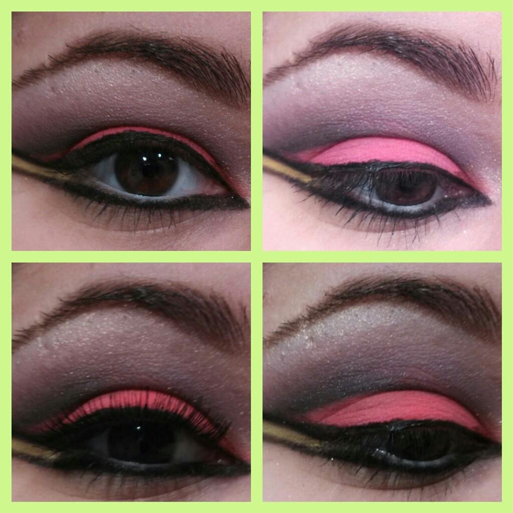Bright Neon Pigment Makeup Tutorial Jerseys Diy
